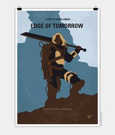 Chungkong, Edge of tomorrow, Minimal Movie Poster