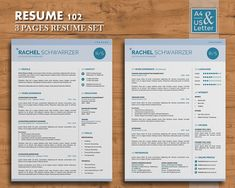 modern resume template curriculum vitae creative resume and cover letter design word indesign resume easy to edit instant download microsoft word - Simple Resume Formate