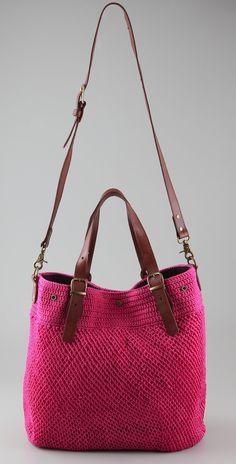 Outstanding Crochet: Elliot Mann. Crochet bags.