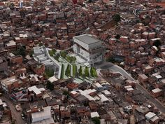 Urban remediation and civic infrastructure hub, São Paulo, Brazil by Urban Think Tank, Brazil