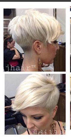 Short Sassy Haircuts, Modern Short Hairstyles, Short Hair Cuts, Cool Hairstyles, Short Hair Styles, Hair Fixing, Pelo Pixie, Pixie Haircut, Hair Today