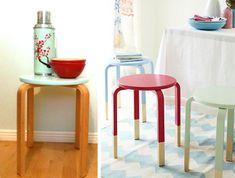 customiser le tabouret frosta d 39 ikea lieux blog et design. Black Bedroom Furniture Sets. Home Design Ideas