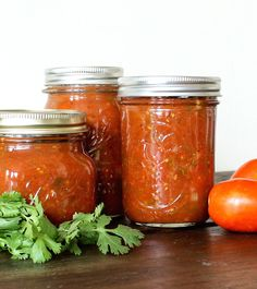 Spicy Roasted Salsa | a tasty canning recipe to preserve summer tomatoes