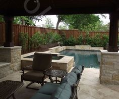 Custom geometric pools by Foley Pools in Plano TX  #CustomPools