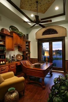 The study in our River Ridge Model in Fort Myers, Florida.