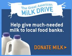 The Great American Milk Drive #FLblogging4good and #floridamilk