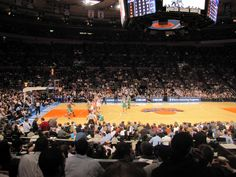 Check out a Knicks game at Madison Square Garden, The World's Most Famous Arena.