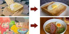 Hayao Miyazaki Food