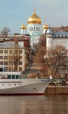 Rostov is a town in Yaroslavl Oblast, Russia, one of the oldest in the country and a tourist center of the Golden Ring.