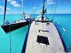 oh, to be anchored in clear water under blue skies and the warm sun...