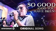Celebrate the goodness of God in this upbeat praise song titled, 'So Good (God You Have Been)' - composed by T. Joshua and sung by the Emmanuel TV Choir. Worship Songs Lyrics, Praise Songs, Praise And Worship, Song Lyrics, Emmanuel Tv, Morning Water, Abba Father, Christian Songs, Original Song
