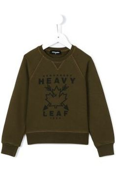 Dsquared2 Kids Heavy Leaf Print Sweatshirt https://modasto.com/dsquared2-kids/erkek-cocuk/br62705ct138