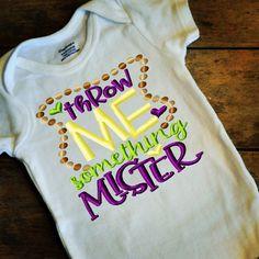 203787f5 Mardi Gras Shirt - Mardi Gras Baby Outfit - Mardi Gras Shirt- My First Mardi  Gras- Throw Me Something Mister