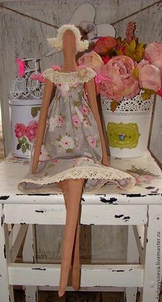 """Куклы Тильды ручной работы. тильда """"Весна""""."""