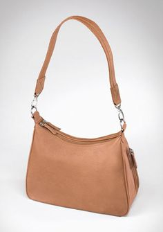 This Gun Tote 'n Mamas concealed-carry purse is a classic hobo style, perfect for day or night.