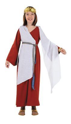 Disfraz Patricia romana