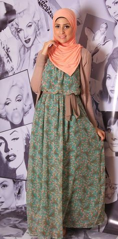 Hijab maxi dresses by prude and style girl see collection http://www.justtrendygirls.com/hijab-maxi-dresses-by-prude-style-girl/