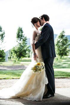 Madolin McWherter & Ben Rosenthal - D Weddings - Tara Keely dress