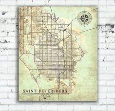 Baltimore Maryland Vintage map Baltimore Vintage map ...