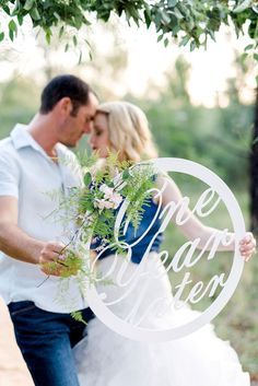 It's 'One Year Later' and their first wedding anniversary photoshoot is perfect! Photos: D'amor Photography @damorphoto . See more stealworthy ideas: http://www.confettidaydreams.com/perfect-first-wedding-anniversary-photo-shoot/