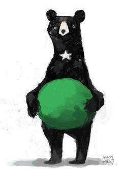 Awkward bear, but #SicEm anyway :)