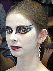 Swan Makeup