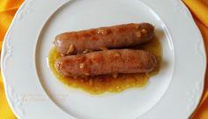 La Cocina De Sole: SALCHICHAS A LA CERVEZA