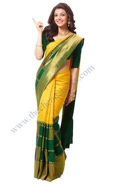 Vivaha Branded Pure Kanchipuram Silk Saree VBBS165