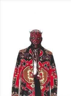 #Jalouín: David Murray moda asesina Coctel Demente I #Illustration I #Fashion #Halloween