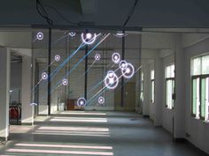 Transparent glass LED display, LED transparent wall