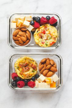 [ Easy Keto Meal Prep Breakfast Packed with protein and so convenient for busy mornings this is the perfect make-ahead option for on the go. The post Easy Keto Meal Prep Breakfast appeared first on Keto Recipes. Healthy Drinks, Healthy Snacks, Healthy Eating, Clean Eating, Cheap Healthy Food, Healthy Quick Meals, Easy Healthy Meal Prep, Easy Keto Meal Plan, Snacks Kids