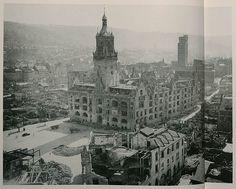 1945 Stuttgart - Rathaus ☺ Big Ben, Germany, War, Building, Travel, Remember This, Stuttgart, Pictures, Viajes