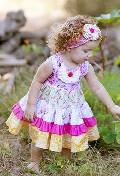 Just Sophia Giggle Moon | Party Dress - HONEYCOMB & BLOSSOMS COLLECTION - One Good Thread