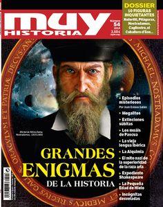 Así es la portada del número 54 de la revista Muy Historia, correspondiente a julio de 2014