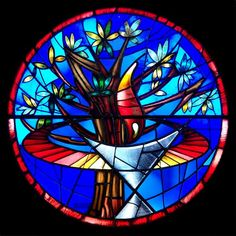 Stained Glass Window Art | Artist Eric Stevens Helps Design Stained Glass Window