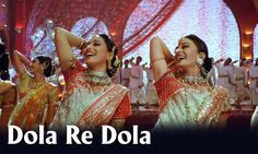 Watch This Dola Re Dola Full HD Video song with Lyrics from Devdas the Song is sung by Shreya Ghoshal, Kavita Krishnamurthy, K. and has music by Ismail Darbar and lyrics by Nusrat Badr Starring Shah Rukh Khan, Aishwarya Rai, Madhuri Dixit Bollywood Movie Songs, Bollywood Actors, Bollywood News, Latest Video Songs, Music Videos, Indiana, Srk Movies, Film Song, Indian Music