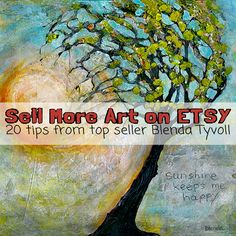 20 Tips to Sell more art on Etsy