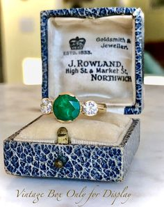 9b7df9af1 Gold Diamond Rings, Emerald Diamond, Colombian Emeralds, I Love Jewelry,  Love Of