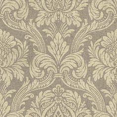 Damascene Brown wallpaper by John Morris