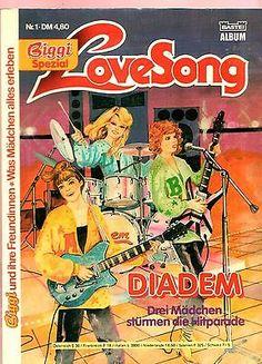 """Biggi Spezial 1- Love Song """"Diadem"""" - BASTEI COMIC"""