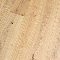 449 kr. Ekstra bred børstet Herregårdsplank i Eg Rustik i klar matlak 15 x 240mm Plankegulv