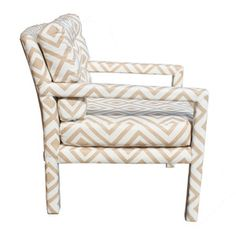 hicks upholstered mid-century chairs=  chair lust