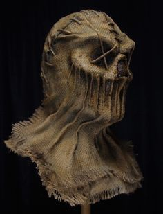 Scary Scarecrow Costume, Scarecrow Mask, Creepy Horror, Gothic Horror, Mad Hatter Costumes, Tutu Costumes, Halloween Masks, Scary Halloween, Creepy Photography