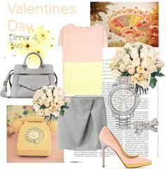 """Valentines Day - Dinner 4 Two (4)"" by kekek ❤ liked on Polyvore"