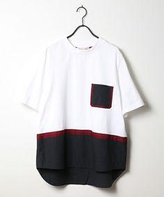 CULLNI(クルニ)の「2017春夏 レイヤードプルオーバー(Tシャツ/カットソー)」|詳細画像