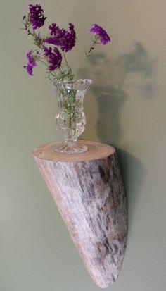 Bois flotté étagère, étagère en bois de dérive, étagère, étagère en bois, Corbel