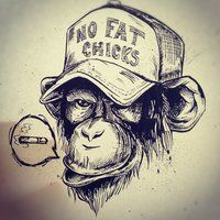 Doodle02 - Obnoxious Chimp by God--Awful