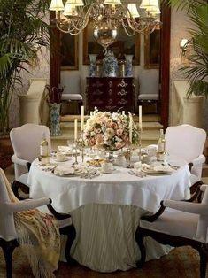 An RL perfect table setting.