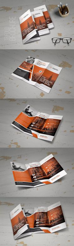 Trifold Brochure Template PSD, INDD
