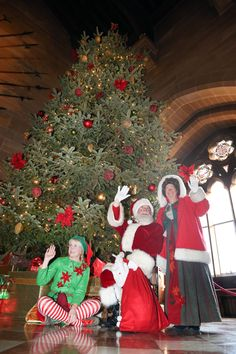 Meet Santa at Warwick Castle this Christmas